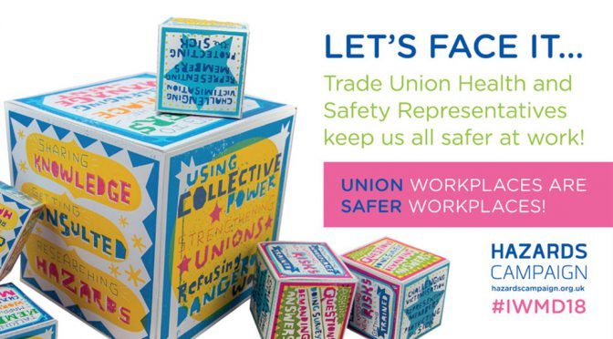 28 April – Unions make work safer